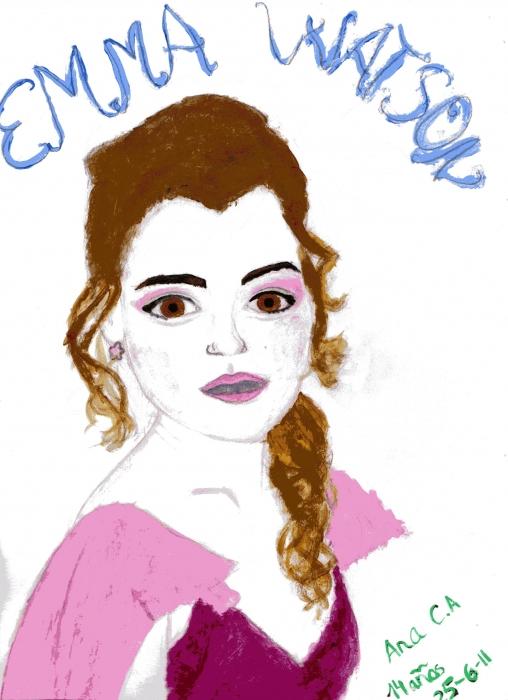 Emma Watson by Starswimmer13